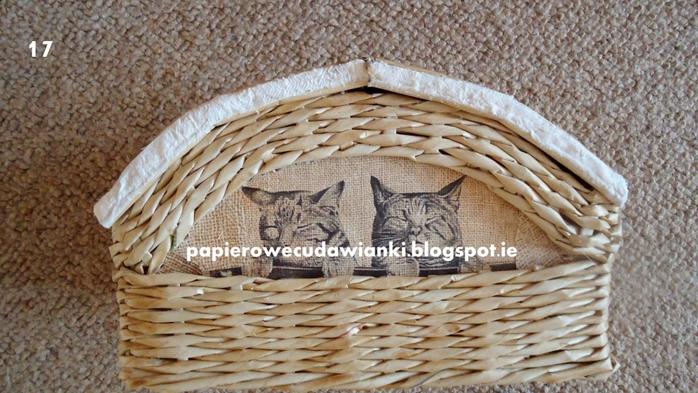 Плетение из газет. Шкатулка-сундучок из коробки. Мастер-класс (4) (700x393, 265Kb)