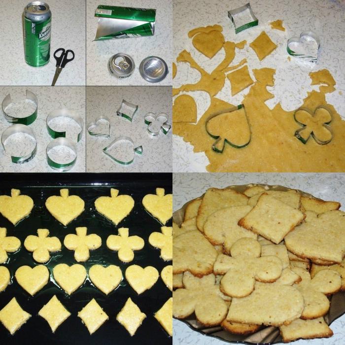 Из чего сделать формы для печенья своими  2