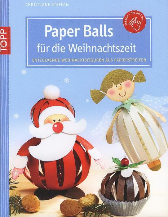 Paper Balls fГјr die Weihnachtszeit0001 (542x700, 230Kb)
