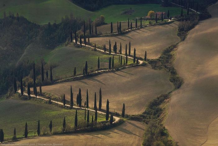 тоскана италия фото 9 (700x470, 258Kb)