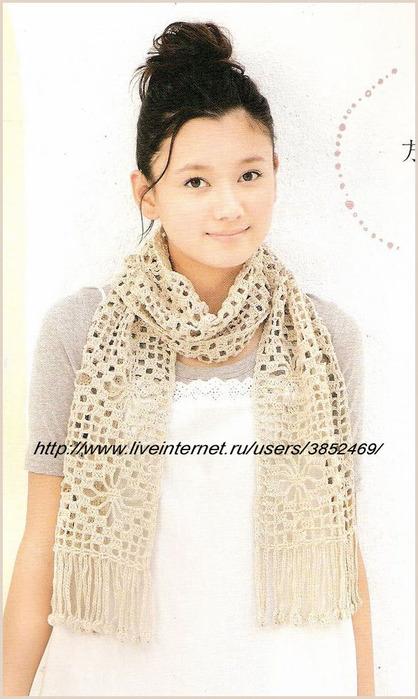 шарф с жучками (418x700, 100Kb)