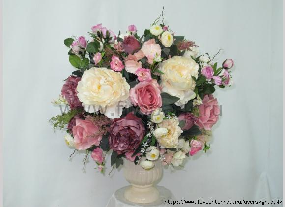 Букеты цветов искусственных