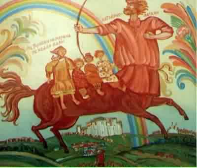 Боги и другие сущности в вере славян:КИТОВРАС
