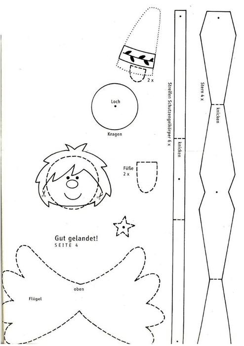 поделки из бумаги (41) (494x700, 98Kb)