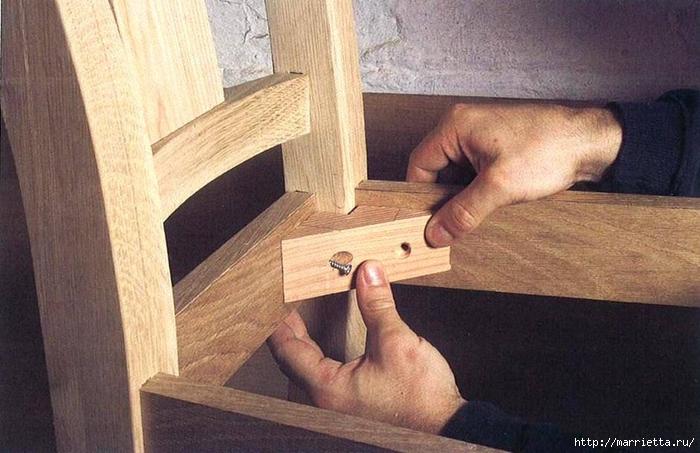 Своими руками изготовление стула 68