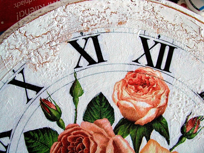 Своими руками. Часы с декупажем. Мастер-класс (14) (700x524, 394Kb)