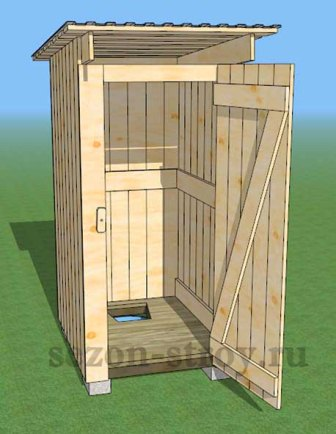 Строить своими руками туалет