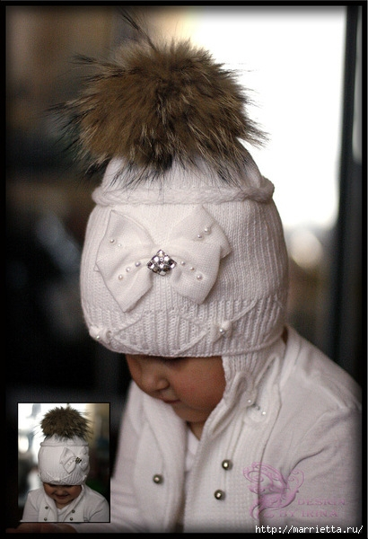 помпон для детской шапочки своими руками (1) (410x600, 165Kb)