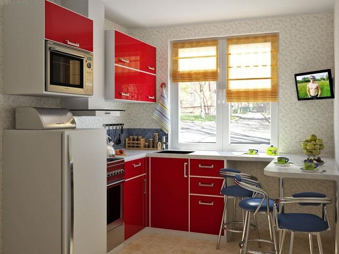 дизайн кухни в хрущевке (3) (690x518, 189Kb)