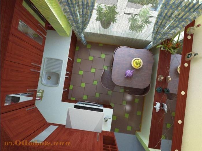 дизайн кухни в хрущевке (29) (700x524, 254Kb)