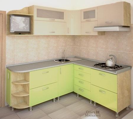 дизайн кухни в хрущевке (34) (450x404, 77Kb)