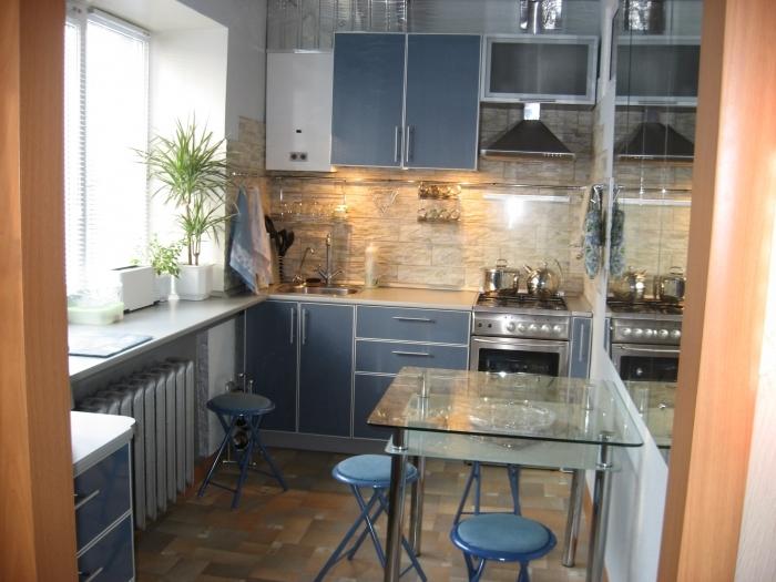 дизайн кухни в хрущевке (37) (700x525, 266Kb)