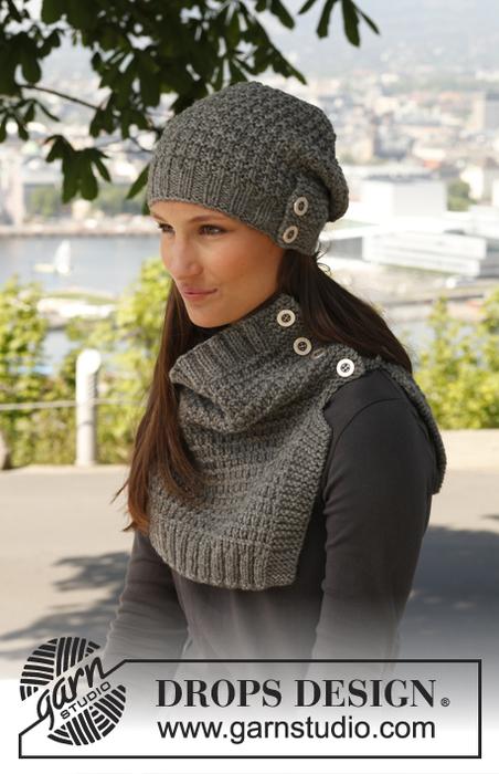 вязание шапка шарф (452x700, 309Kb)