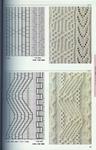 Коллекция рельефных узоров спицами