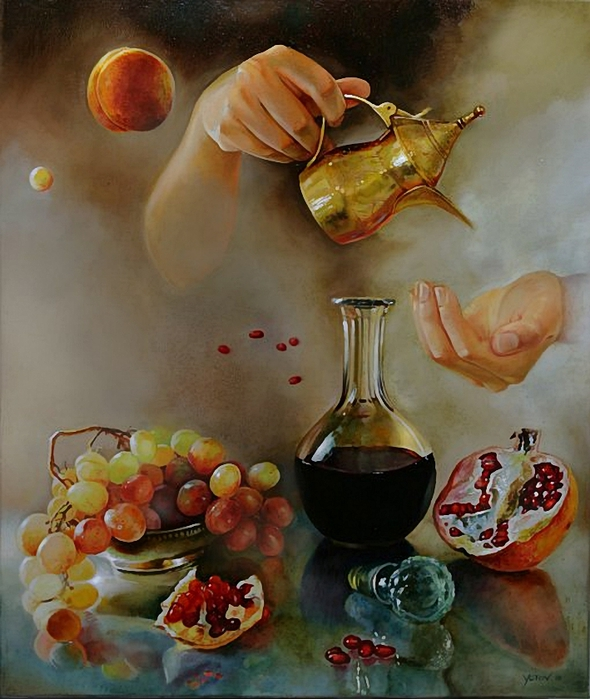 Miroslav Yotov 1977 . Bulgarian Surrealist painter (590x700, 278Kb)