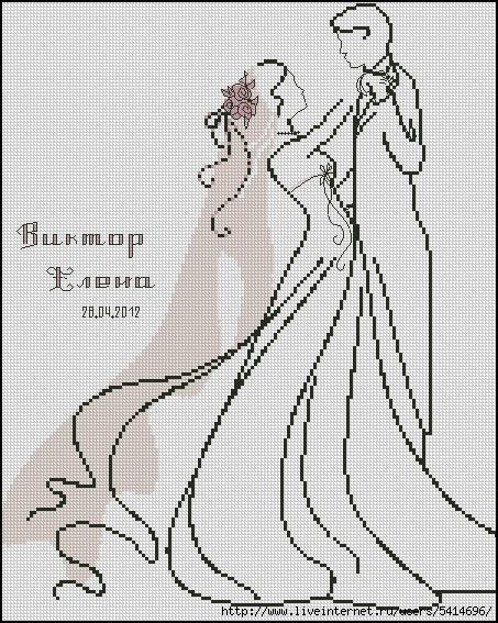 Жених и невеста с правками