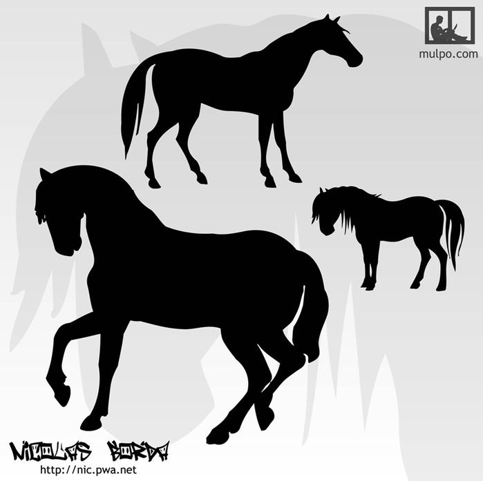 Free-Vector-Horses (700x697, 90Kb)