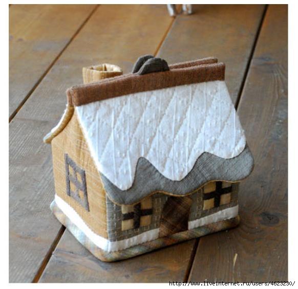 Шкатулки домики своими руками
