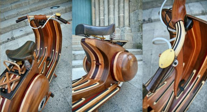 скутер из дерева фото 1 (680x369, 449Kb)