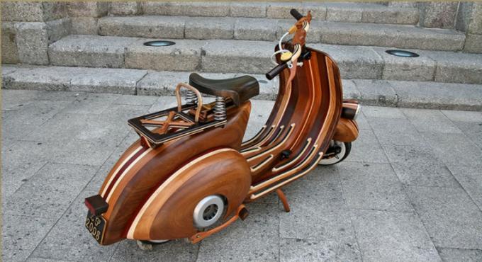 скутер из дерева фото 5 (680x370, 461Kb)