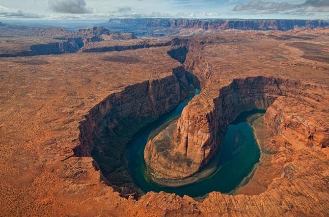 каньон реки колорадо в аризоне фото (670x442, 248Kb)
