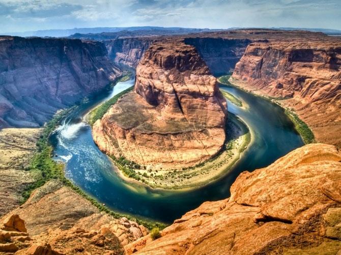 каньон реки колорадо в аризоне фото 6 (670x502, 286Kb)
