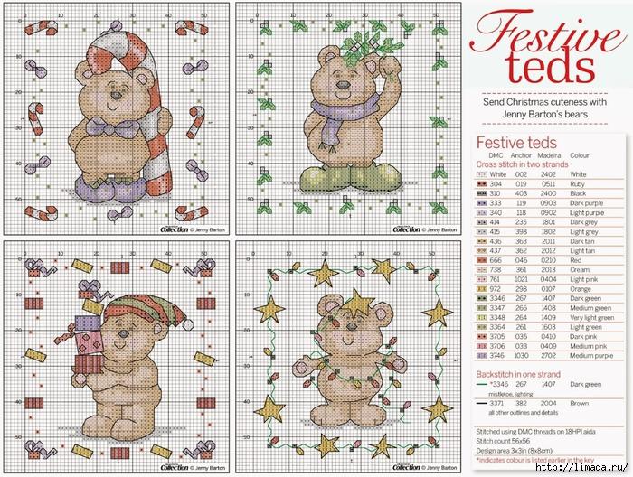 Festive-Teds_Pattern (700x528, 393Kb)