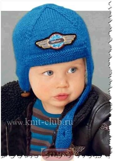 Шапочка-шлем малышам