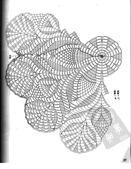 вязание крючком. салфетки (3) (542x700, 149Kb)