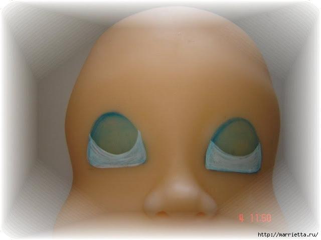 Как нарисовать глазки кукле из холодного фарфора (5) (640x480, 95Kb)