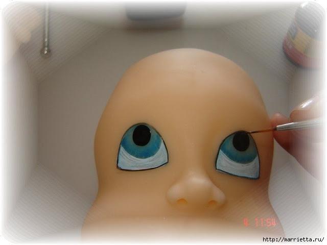 Как нарисовать глазки кукле из холодного фарфора (9) (640x480, 104Kb)