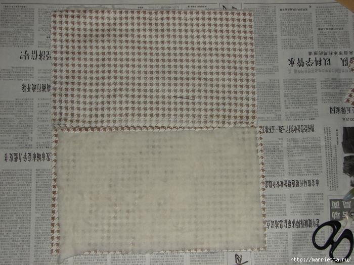 Полочка из картона для ванной комнаты, своими руками (11) (700x525, 329Kb)