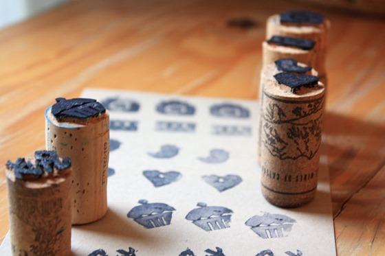 30 красивых вещей из винных пробок