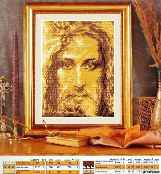 Вышивка крестом религиозные
