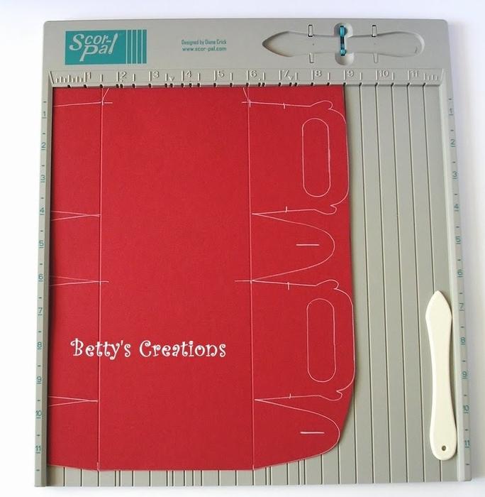 Коробочки, корзинки и новогодние игрушки из картона. Шаблоны (8) (684x700, 261Kb)