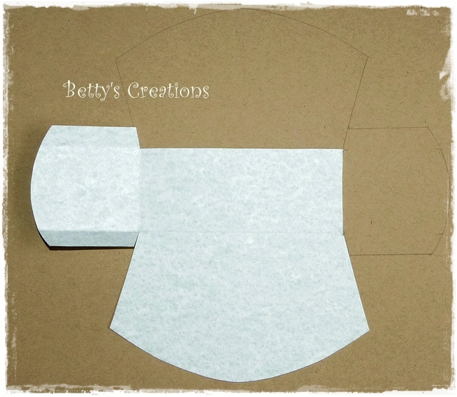 Коробочки, корзинки и новогодние игрушки из картона. Шаблоны (34) (640x556, 280Kb)
