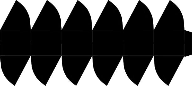 Коробочки, корзинки и новогодние игрушки из картона. Шаблоны (45) (614x275, 39Kb)