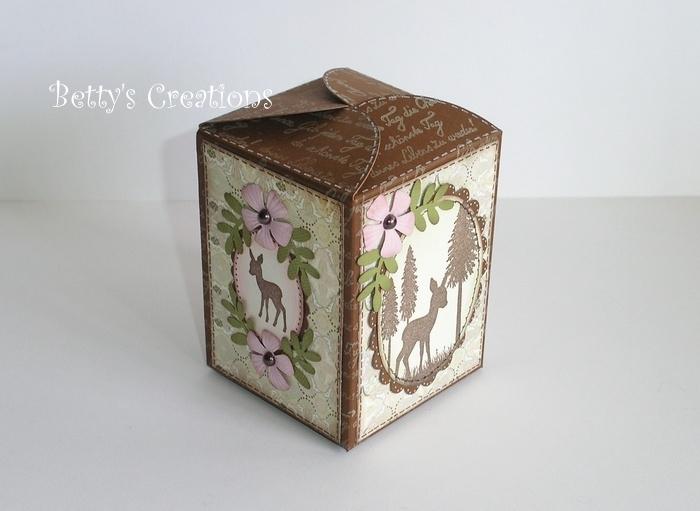 Коробочки, корзинки и новогодние игрушки из картона. Шаблоны (66) (700x511, 166Kb)
