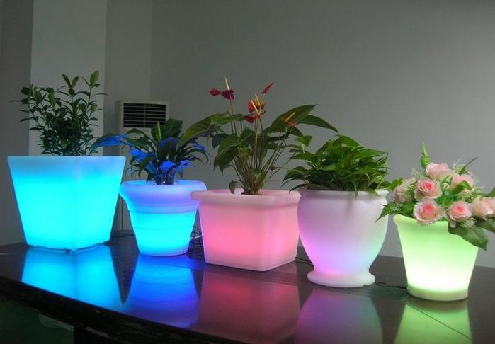 Подсветка для цветов светодиодная своими руками