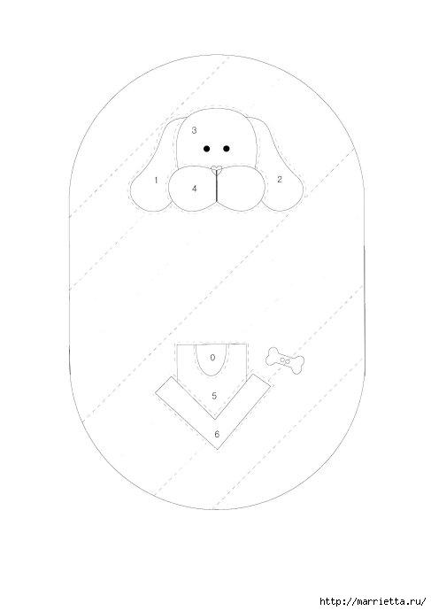 Детские кошельки с изображением животных. Шьем сами. Выкройки (2) (487x690, 40Kb)