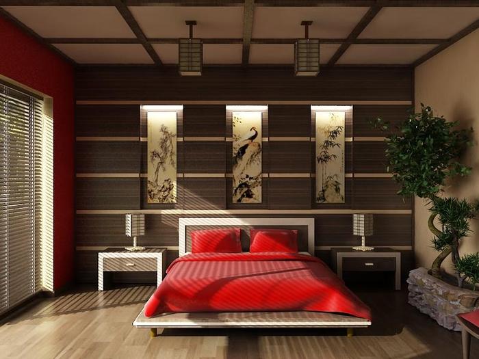 спальня в восточном стиле (16) (700x525, 239Kb)