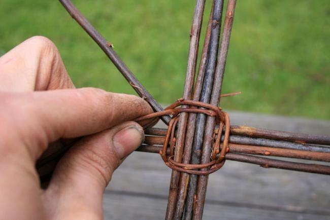 Как самому сделать плетеный