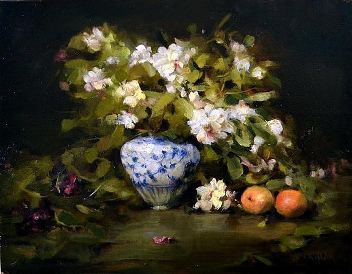 white-azaleas-with-peaches (700x545, 429Kb)