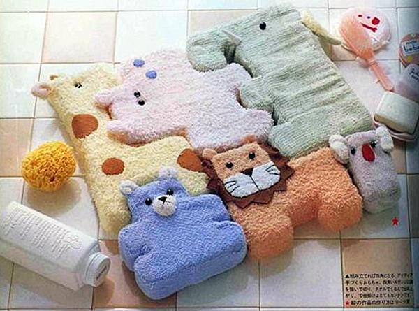 Мягкая игрушка для малыша своими руками