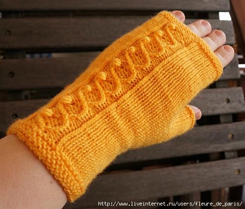 针织:露指手套 - maomao - 我随心动