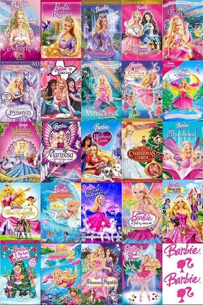 Список мультфильмов Барби