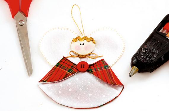 Рождественские АНГЕЛЫ - текстильные игрушки для елочки (7) (570x375, 342Kb)