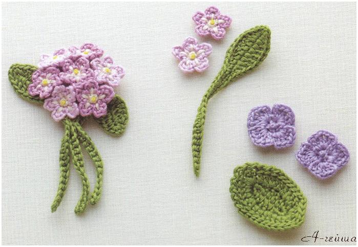 Рубрики: вязание крючком/цветы