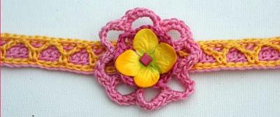 многоуровневый цветок ожерелье