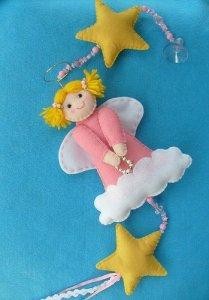 рождественский ангел своими руками, как сшить рождественского ангела, выкройка для рождественского ангела, Рождественский ангел Хьюго Пьюго,